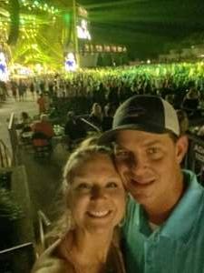 KaylaL attended Brad Paisley Tour 2021 on Jul 22nd 2021 via VetTix