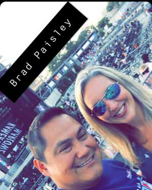 Jesse W attended Brad Paisley Tour 2021 on Jul 22nd 2021 via VetTix