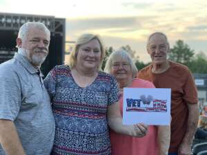 William Burt, SMSGT retired,  US Air Force attended Brad Paisley Tour 2021 on Jul 22nd 2021 via VetTix
