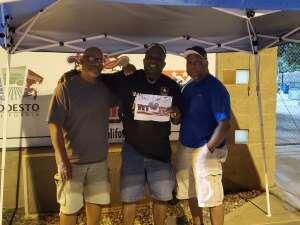 CALVIN NICKERSON attended Modesto Nuts vs. San Jose Giants - Military Appreciation Game _ MiLB on Jun 19th 2021 via VetTix