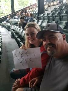 SeanyD  attended An Evening With Chicago and Their Greatest Hits on Jul 18th 2021 via VetTix