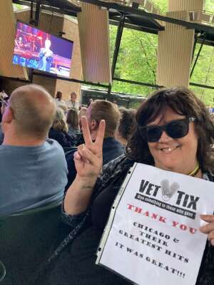 Kathy M attended An Evening With Chicago and Their Greatest Hits on Jul 18th 2021 via VetTix
