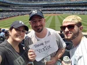 Jarrod attended New York Yankees vs. New York Mets - MLB on Jul 2nd 2021 via VetTix
