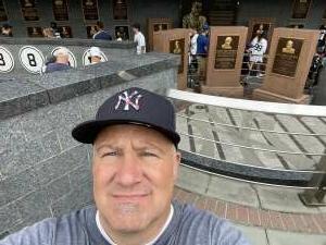 Usmc vet attended New York Yankees vs. New York Mets - MLB on Jul 2nd 2021 via VetTix