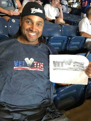 Randy C attended New York Yankees vs. New York Mets - MLB on Jul 2nd 2021 via VetTix