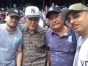Frank attended New York Yankees vs. New York Mets - MLB on Jul 2nd 2021 via VetTix