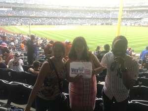 Allison  attended New York Yankees vs. New York Mets - MLB on Jul 2nd 2021 via VetTix