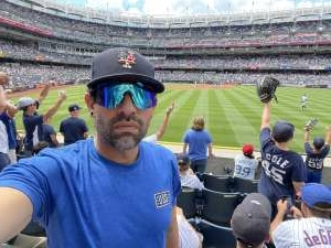 Miguel attended New York Yankees vs. New York Mets - MLB on Jul 2nd 2021 via VetTix