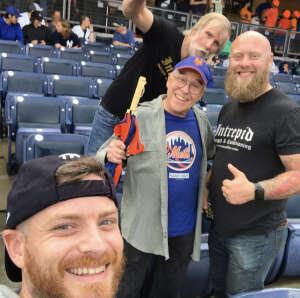 Ryan Hansen  attended New York Yankees vs. New York Mets - MLB on Jul 2nd 2021 via VetTix