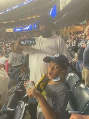 Kat attended New York Yankees vs. New York Mets - MLB on Jul 2nd 2021 via VetTix