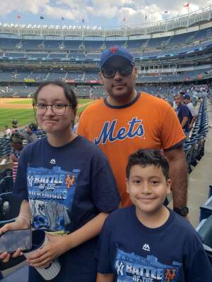 Alexander  attended New York Yankees vs. New York Mets - MLB on Jul 2nd 2021 via VetTix