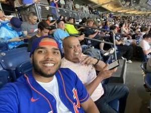 Erickson Perez attended New York Yankees vs. New York Mets - MLB on Jul 2nd 2021 via VetTix