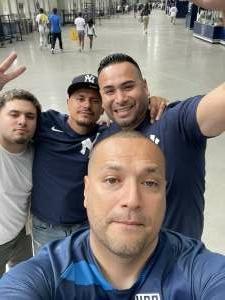 Luis attended New York Yankees vs. New York Mets - MLB on Jul 2nd 2021 via VetTix