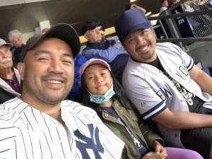 Emerson attended New York Yankees vs. New York Mets - MLB on Jul 3rd 2021 via VetTix