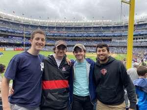 Greg attended New York Yankees vs. New York Mets - MLB on Jul 3rd 2021 via VetTix