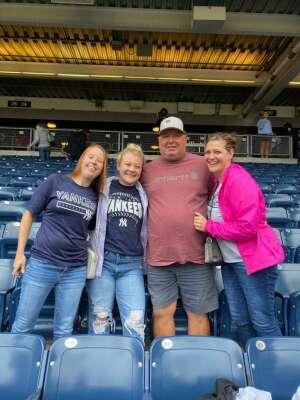 Brittany  attended New York Yankees vs. New York Mets - MLB on Jul 3rd 2021 via VetTix