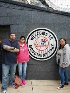 Jeff M attended New York Yankees vs. New York Mets - MLB on Jul 3rd 2021 via VetTix
