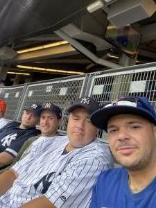 Pat attended New York Yankees vs. New York Mets - MLB on Jul 3rd 2021 via VetTix