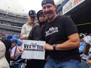 Glenn attended New York Yankees vs. New York Mets - MLB on Jul 3rd 2021 via VetTix