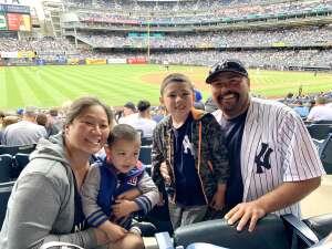 Chris attended New York Yankees vs. New York Mets - MLB on Jul 3rd 2021 via VetTix