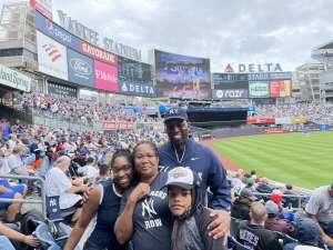 Anthony Jones attended New York Yankees vs. New York Mets - MLB on Jul 3rd 2021 via VetTix