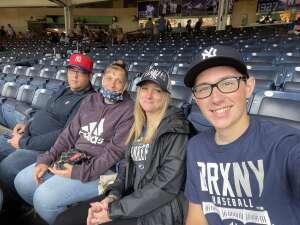 M.Binns attended New York Yankees vs. New York Mets - MLB on Jul 3rd 2021 via VetTix