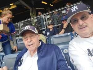 Jorge Bermudez  attended New York Yankees vs. New York Mets - MLB on Jul 3rd 2021 via VetTix