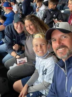Ken  attended New York Yankees vs. New York Mets - MLB on Jul 3rd 2021 via VetTix