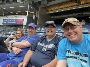Shawn  attended New York Yankees vs. New York Mets - MLB on Jul 3rd 2021 via VetTix