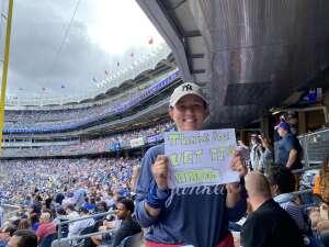 Tam S attended New York Yankees vs. New York Mets - MLB on Jul 3rd 2021 via VetTix