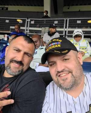Keith McCue  attended New York Yankees vs. New York Mets - MLB on Jul 3rd 2021 via VetTix