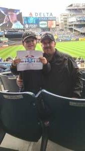 DM attended New York Yankees vs. New York Mets - MLB on Jul 3rd 2021 via VetTix