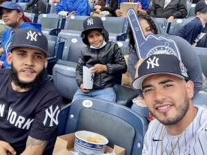 Irving  attended New York Yankees vs. New York Mets - MLB on Jul 3rd 2021 via VetTix