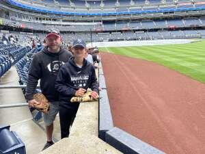 Vet marine  attended New York Yankees vs. New York Mets - MLB on Jul 3rd 2021 via VetTix