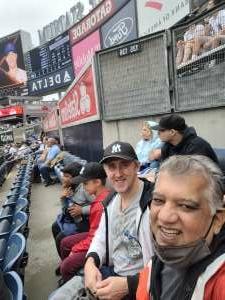 Juozas attended New York Yankees vs. New York Mets - MLB on Jul 3rd 2021 via VetTix