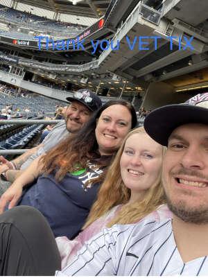 Chris Walker attended New York Yankees vs. New York Mets - MLB on Jul 3rd 2021 via VetTix