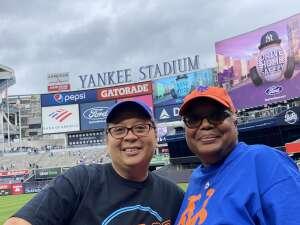 SFC Cora, N attended New York Yankees vs. New York Mets - MLB on Jul 3rd 2021 via VetTix