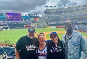 Darrell Sullivan attended New York Yankees vs. New York Mets - MLB on Jul 3rd 2021 via VetTix