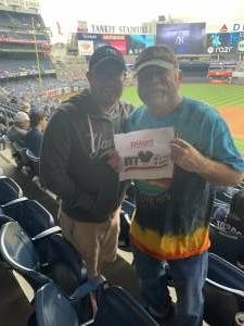 Bob attended New York Yankees vs. New York Mets - MLB on Jul 3rd 2021 via VetTix