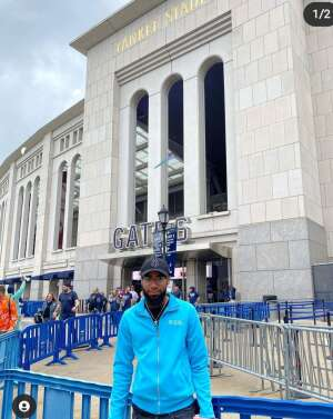 RaNeshia  attended New York Yankees vs. New York Mets - MLB on Jul 3rd 2021 via VetTix