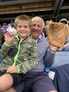 Kenneth attended New York Yankees vs. New York Mets - MLB on Jul 3rd 2021 via VetTix