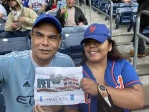 Dante Dorival attended New York Yankees vs. New York Mets - MLB on Jul 3rd 2021 via VetTix