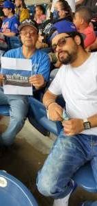 Joseph Gonzalez  attended New York Yankees vs. New York Mets - MLB on Jul 3rd 2021 via VetTix