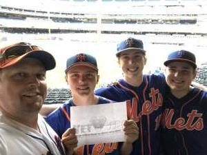 Joshua Burns attended New York Yankees vs. New York Mets - MLB on Jul 3rd 2021 via VetTix