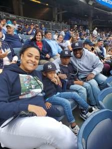 Lavon attended New York Yankees vs. New York Mets - MLB on Jul 3rd 2021 via VetTix