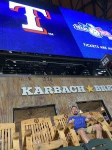 David Soria attended Texas Rangers vs. Arizona Diamondbacks - MLB on Jul 28th 2021 via VetTix