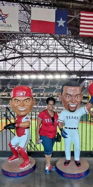 VJ attended Texas Rangers vs. Arizona Diamondbacks - MLB on Jul 28th 2021 via VetTix