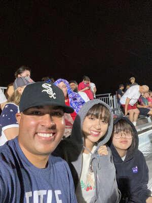 Luis Ortiz attended Phoenix Rising vs. LA Galaxy on Jul 3rd 2021 via VetTix