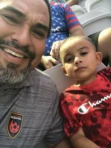 Adalberto Valencia attended Phoenix Rising vs. LA Galaxy on Jul 3rd 2021 via VetTix