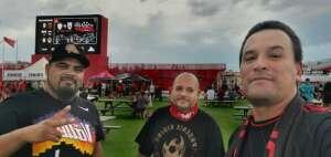 Luis attended Phoenix Rising vs. LA Galaxy on Jul 3rd 2021 via VetTix